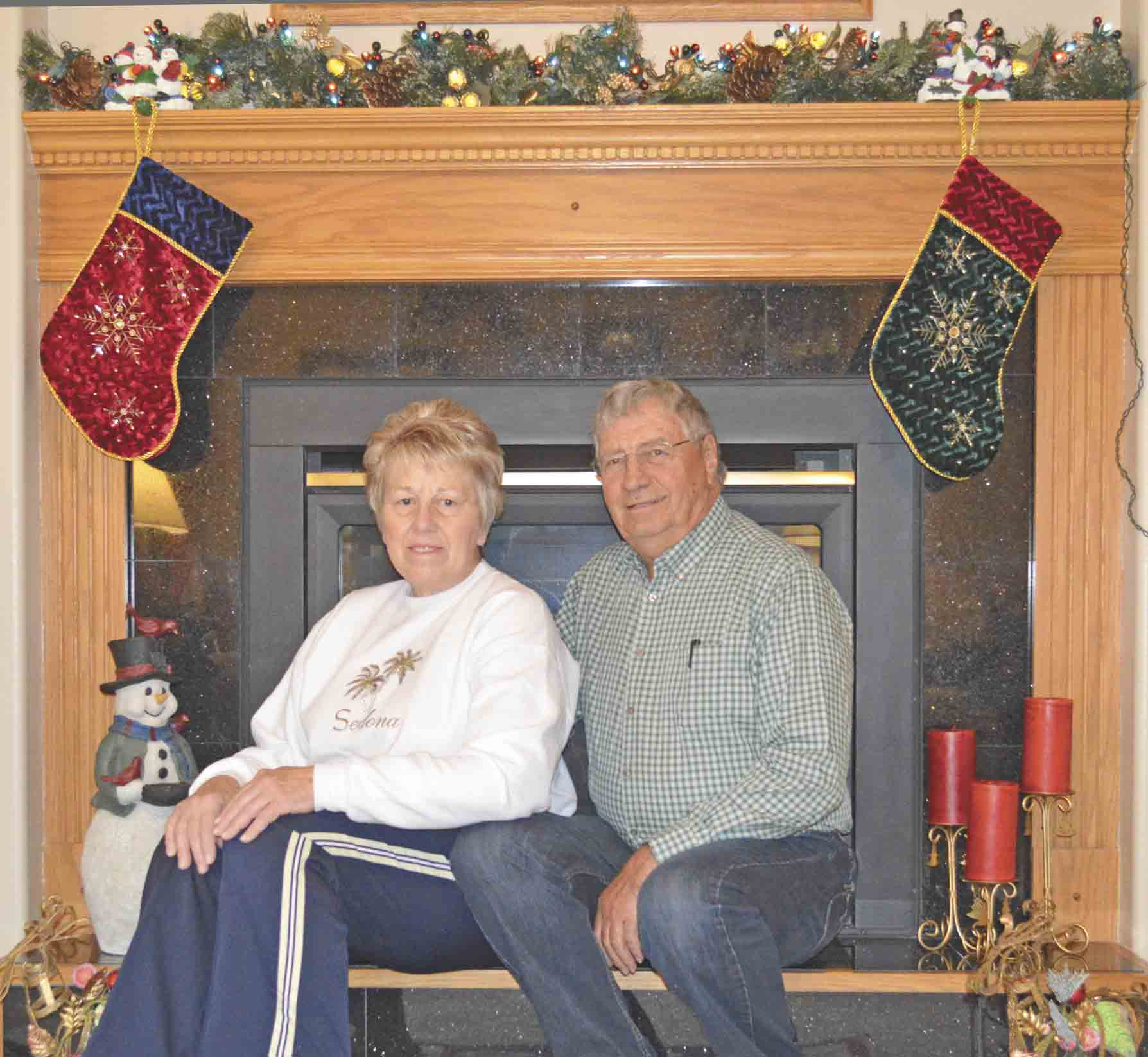 "Ken and Karin Ney of Ossian will be one of the featured homes on the Holiday Home Tour during this year's ""Magic of Christmas"" celebration. The annual holiday celebration will be held Friday, Dec. 2, through Sunday, Dec. 4. (Zakary Kriener photo) 	'Magic of..."