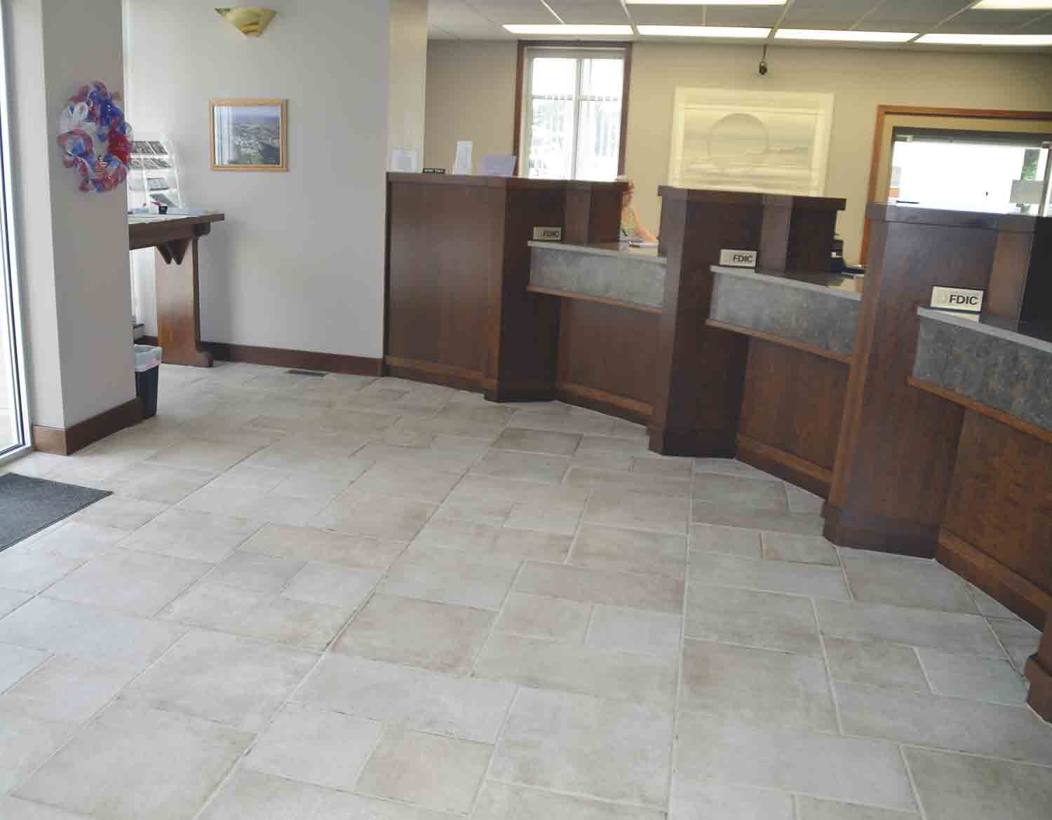 Other lobby renovations include glazed-porcelain tile flooring where carpet used to be, plus a new color of paint called Utterly Beige on the walls.MSB remodel gives it a more contemporary lookBy Chris Debackcdeback@thefayettecountyunion.com...
