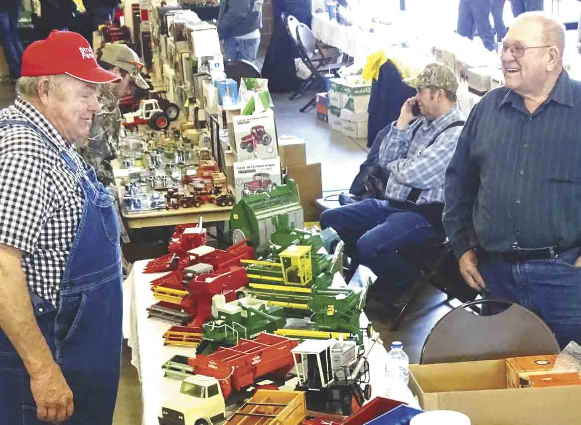 Where you find farm toys you'll usually find discussions about the merits of the actual equipment pieces when they were being used. Many of those discussions will be taking place, like the one here, at the Northeast Iowa Diecast Toy Show this Saturday at the West Union Event Center....